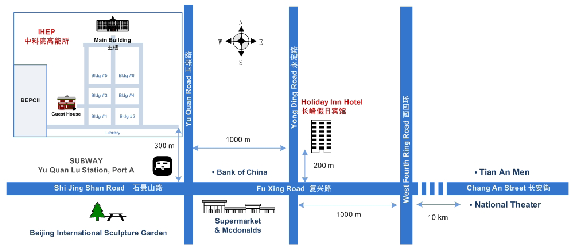 map of your hotel